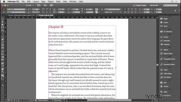 Incorporating line breaks: InDesign CC EPUB Typography