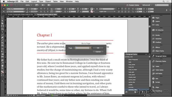 Working with paragraph rules: InDesign CC EPUB Typography