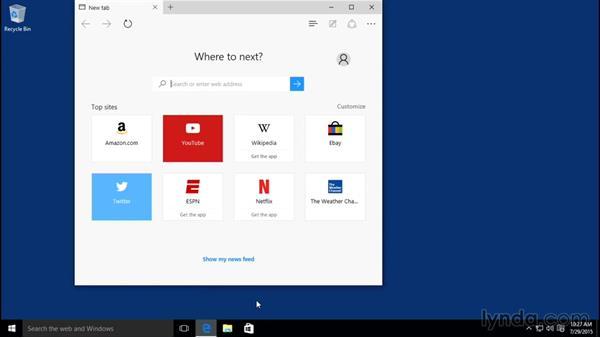 Quitting applications: Windows 10 Essential Training