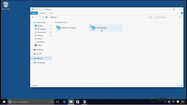 Using Remote Desktop: Windows 10 Essential Training