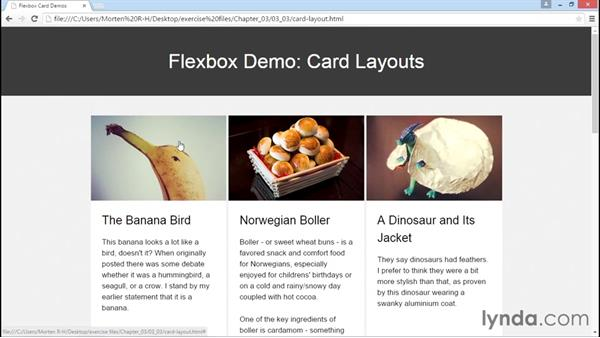Using Flexbox to create a grid of cards: Advanced Responsive Layouts with CSS Flexbox