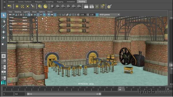 Configuring viewports: Up and Running with Maya LT