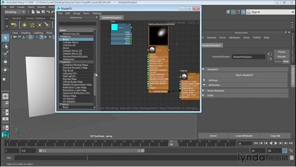 Creating ShaderFX materials: Up and Running with Maya LT