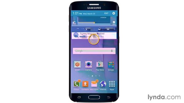 Overview: Samsung Galaxy S6 and S6 Edge Essential Training