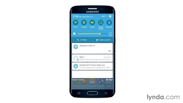Customizing the accessibility features: Samsung Galaxy S6 and S6 Edge Essential Training