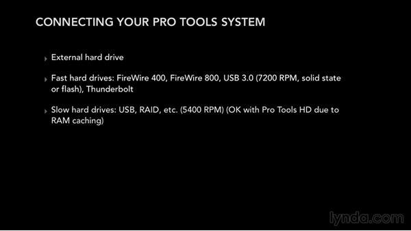 Connecting your audio hardware: Pro Tools 12 Essential Training