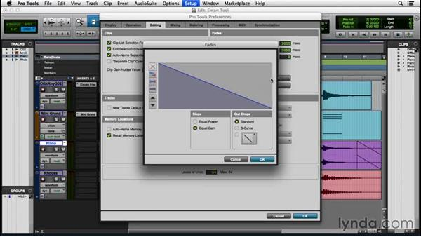 Using the Smart tool: Pro Tools 12 Essential Training