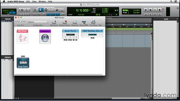 Setting up MIDI on a Mac: Pro Tools 12 Essential Training (2016)