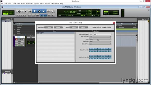 Setting up MIDI on a PC: Pro Tools 12 Essential Training