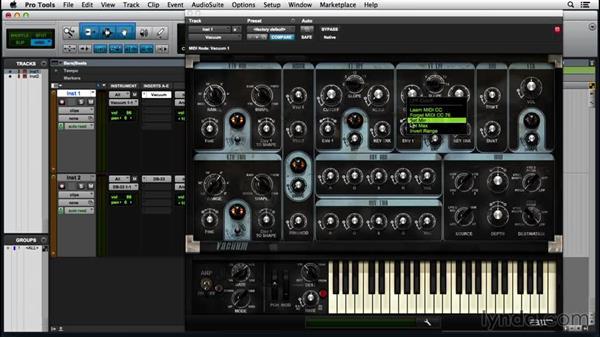 Using MIDI Learn: Pro Tools 12 Essential Training