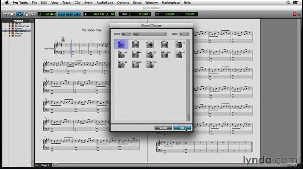 Printing and exporting a score: Pro Tools 12 Essential Training