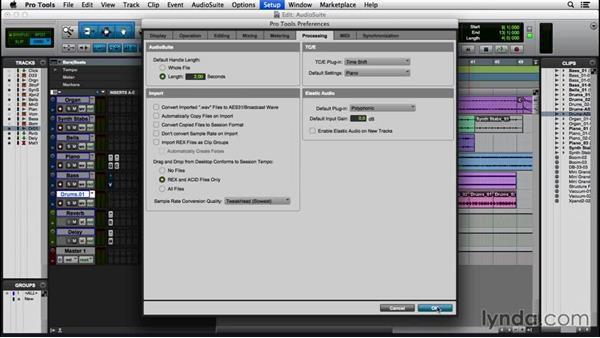 Using AudioSuite plugins: Pro Tools 12 Essential Training