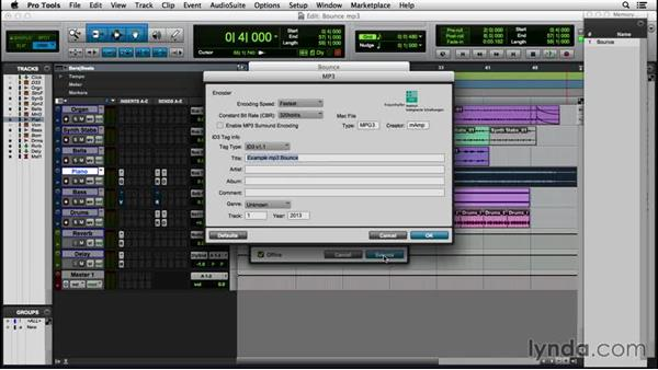 Making an MP3: Pro Tools 12 Essential Training (2016)