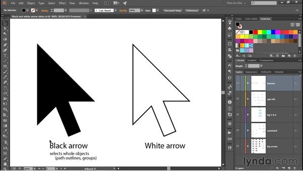 Meet the Black and White Arrow tools: Adobe Pen Tool: Fundamentals