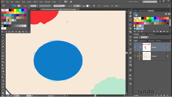 Adding some random wiggle: Adobe Pen Tool: Fundamentals