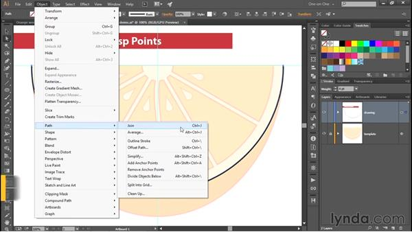 Working with cusp points: Adobe Pen Tool: Fundamentals