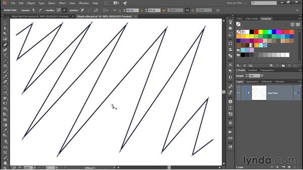 Completing an open path outline: Adobe Pen Tool: Fundamentals