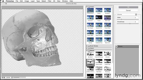 Converting to a Smart Object: Building Transparency in Photoshop