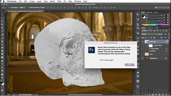 Using the Apply Median filter