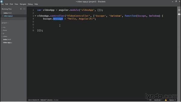 Preparing our AngularJS app properties: Building Custom HTML5 Video Playback with AngularJS 1