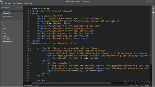 Playback and mute controls: Building Custom HTML5 Video Playback with AngularJS 1