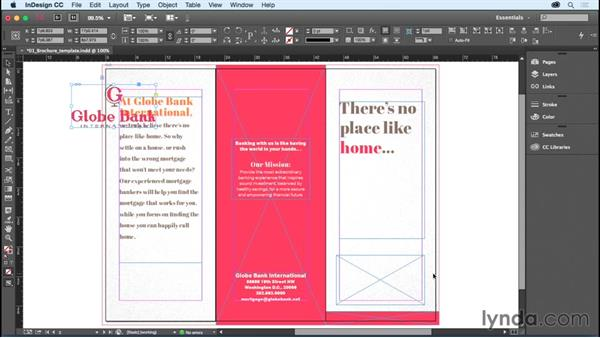 Adding or replacing graphics: Getting Started with InDesign