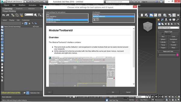 Setting defaults: 3ds Max for Design Visualization
