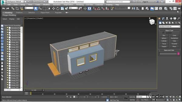 Importing a SketchUp model: 3ds Max for Design Visualization