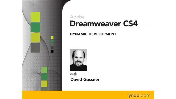 Goodbye: Dreamweaver CS4 Dynamic Development
