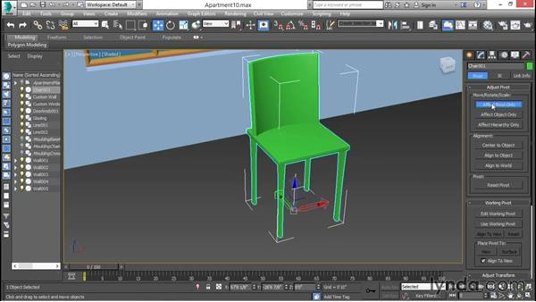 Attaching versus grouping: 3ds Max for Design Visualization