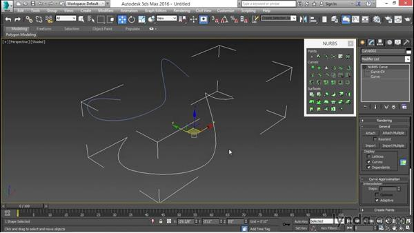 Understanding NURBS: 3ds Max for Design Visualization