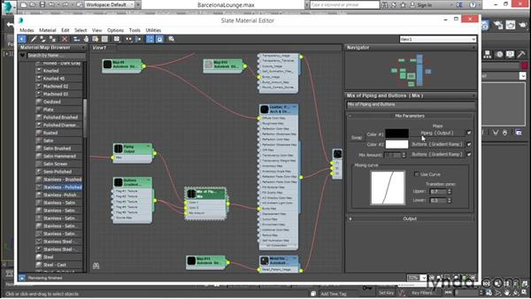 Analyzing a complex material: 3ds Max for Design Visualization