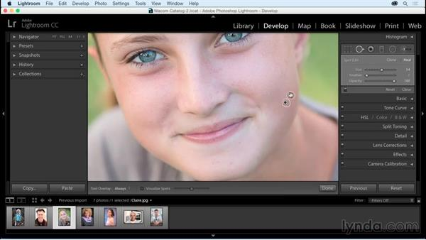 Healing tool: Using Wacom Tablets with Lightroom
