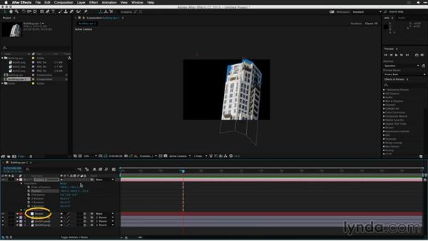 Importing Vanishing Point Exchange files into After Effects: Motion Graphics for Video Editors: Working with 3D Objects