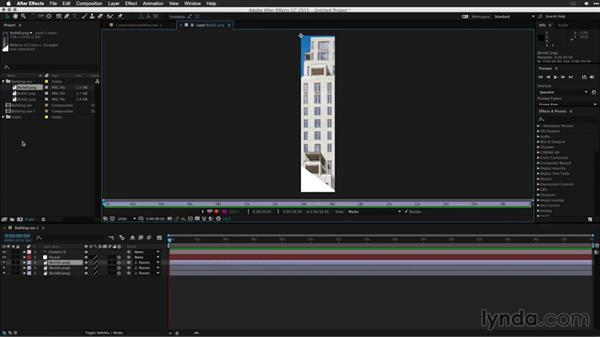 Cleaning up and extending the scene: Motion Graphics for Video Editors: Working with 3D Objects