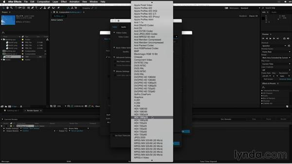 Rendering the After Effects composition for use in an NLE: Motion Graphics for Video Editors: Working with 3D Objects