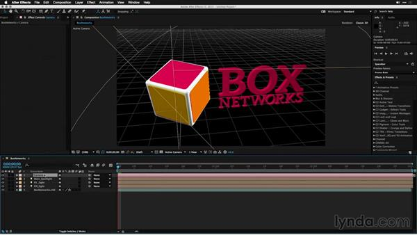 Importing a 3D model with C4D Lite: Motion Graphics for Video Editors: Working with 3D Objects