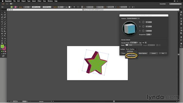 Creating 3D objects with Extrude: Motion Graphics for Video Editors: Working with 3D Objects