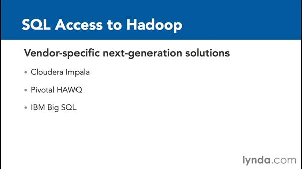 Applying SQL to Hadoop: Transitioning from Data Warehousing to Big Data