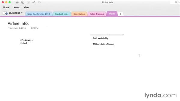 Welcome: OneNote for Mac 2011 Essential Training