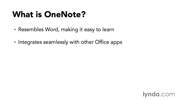 What is OneNote?: OneNote for Mac 2011 Essential Training