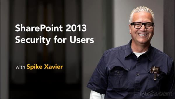 What you should know before watching this course: SharePoint 2013 Security for Users