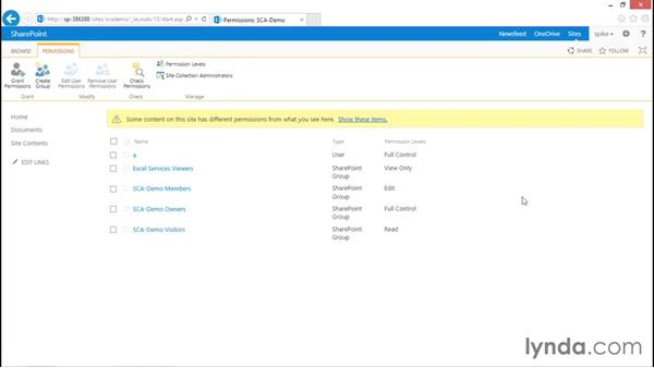 Site owners: SharePoint 2013 Security for Users