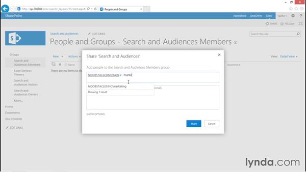 Audiences and SharePoint security: SharePoint 2013 Security for Users