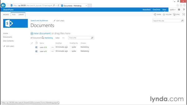 Views and SharePoint security: SharePoint 2013 Security for Users