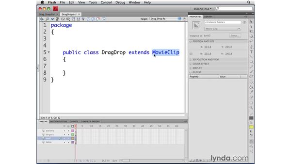 Extending classes: ActionScript 3.0 in Flash CS4 Professional for Designers