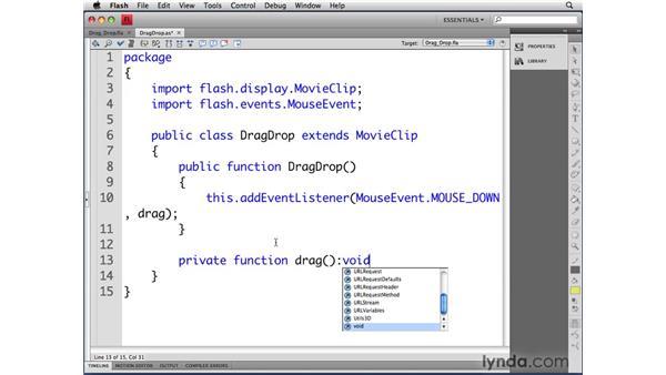 Understanding methods: ActionScript 3.0 in Flash CS4 Professional for Designers