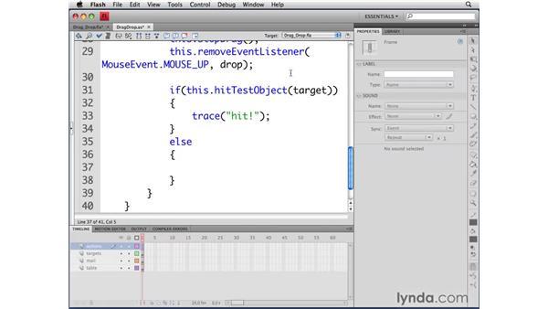 Instantiating classes: ActionScript 3.0 in Flash CS4 Professional for Designers