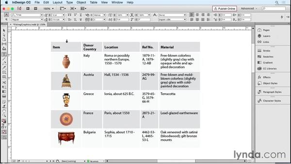 Resizing graphics in tables: InDesign Tables in Depth