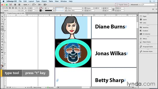 Modifying graphic cell frames: InDesign Tables in Depth